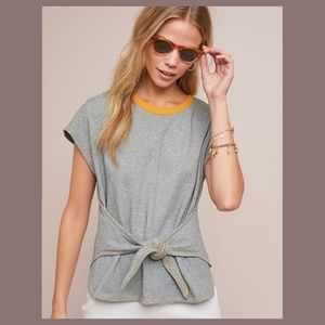 Anthropologie Two-Toned Tee by Current Air